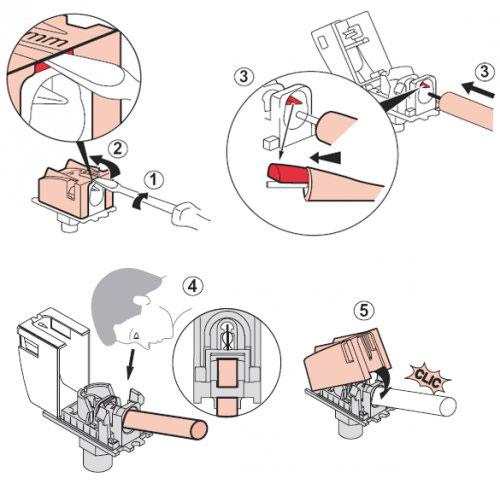 рисунок инструкция для подключения тв розетки Legrand