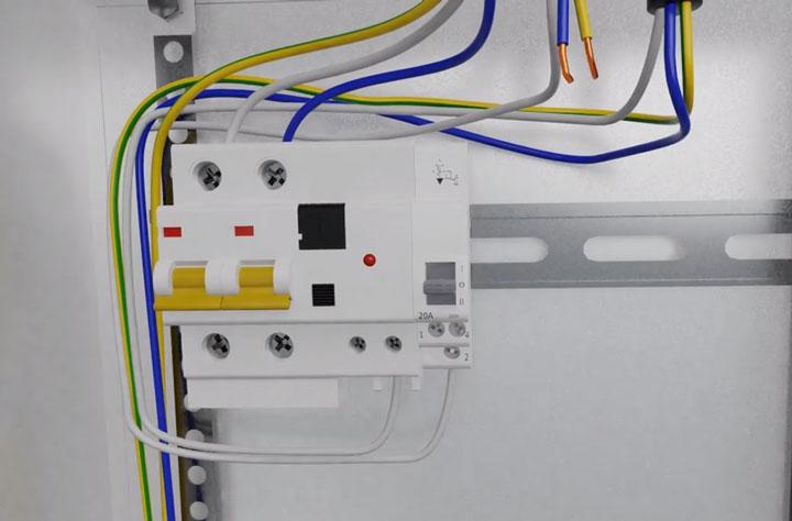 подключение стабилизатора напряжения через 3-х позиционный переключатель