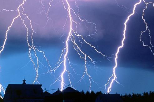 как уберечь дом от молнии