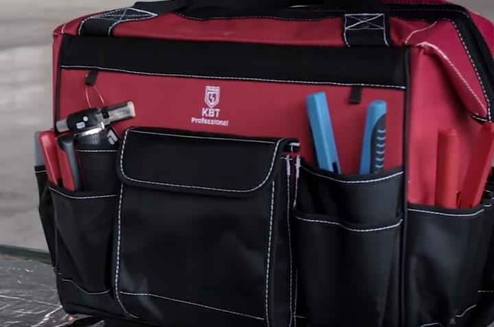 карманы сумки КВТ С-02 что можно уложить
