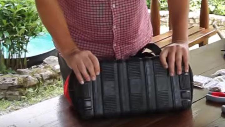 пластиковое дно сумки под инструмент КВТ С-01