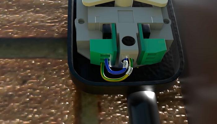 подключение ключа кнопки на откатных воротах