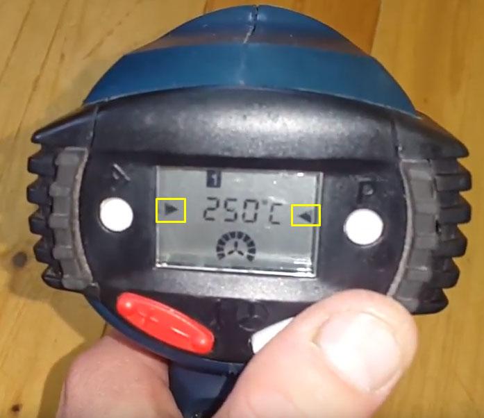 набор феном Бош 660 заданной температуры