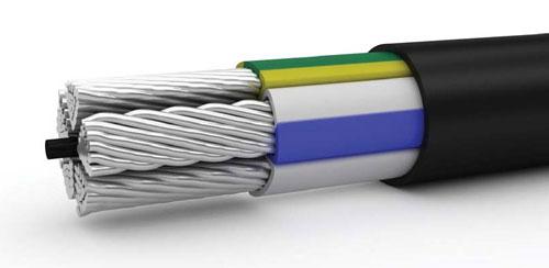 кабель с пластмассовой изоляцией