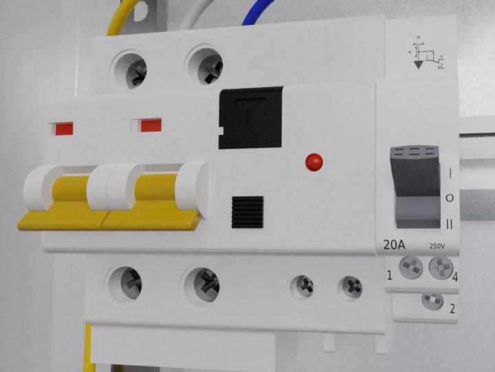 3-х позиционный переключатель для подключения стабилизатора напряжения