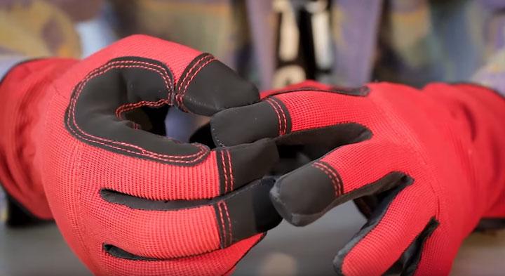 защита пальцев на перчатках С-31 КВТ