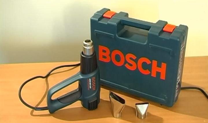 обычная комплектация технического фена Бош 660