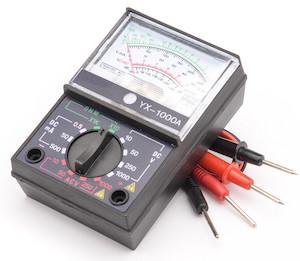 аналоговый мультиметр