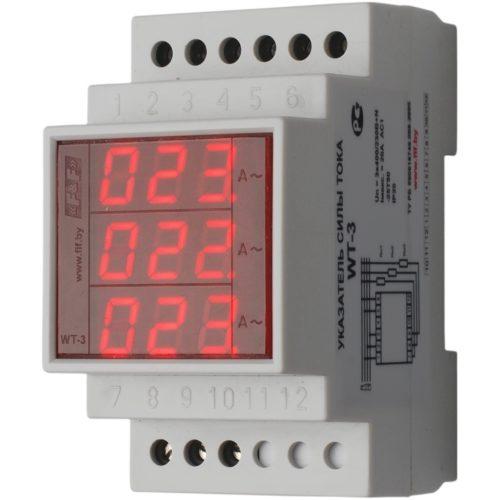 Указатель силы тока WT-3 рассчитан на одновременную работу сразу с несколькими каналами