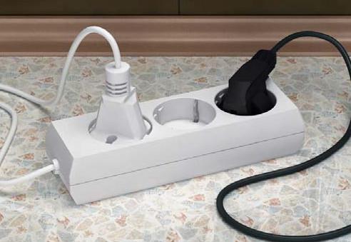 электрический удлинитель из китая