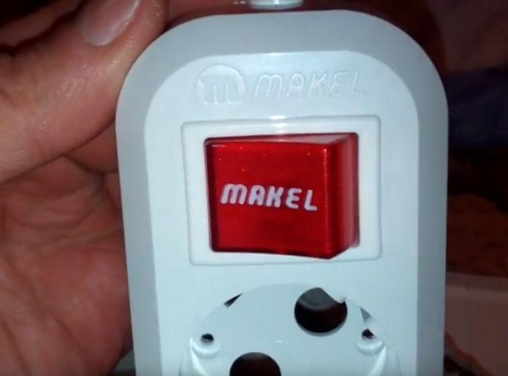 удлинитель с кнопкой отключения а не автоматом