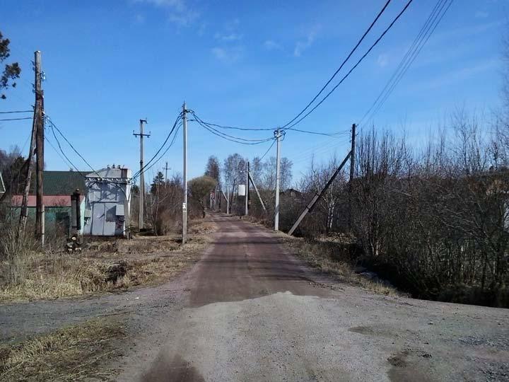 провода СИП на линии