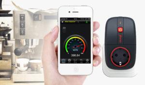 Контроль умной розеткой потребления электрической энергии