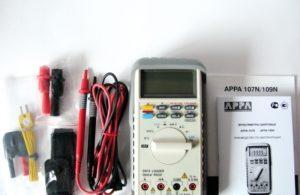 Комплект мультиметра APPA 107N