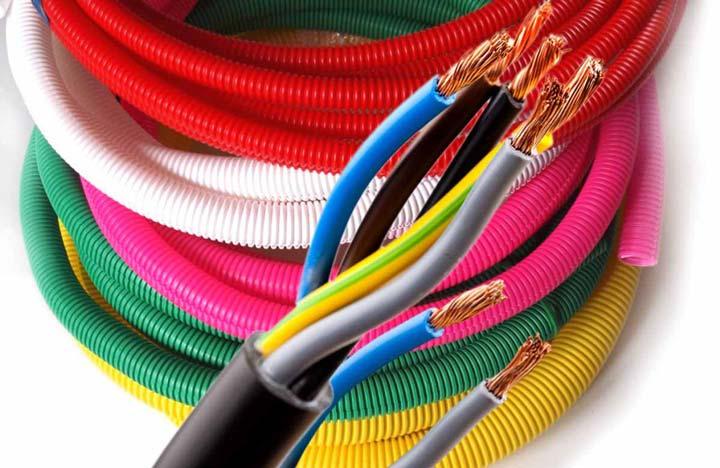 разноцветная гофра назначение каждого цвета и применение