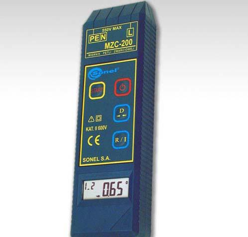 Прибор MZC-200 для измерения петли фаза-нуль