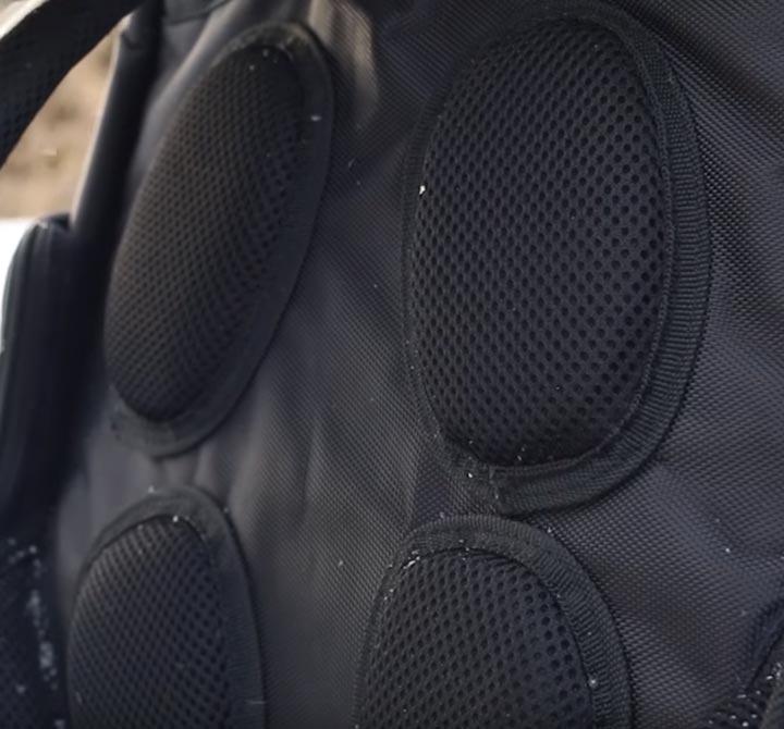 анатомические мягкие вставки рюкзак КВТ модель 07