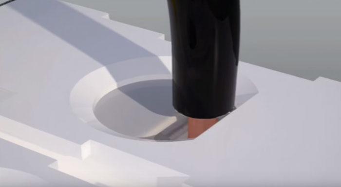 изолированная пластина закрывающая заклеммное пространство в автомате
