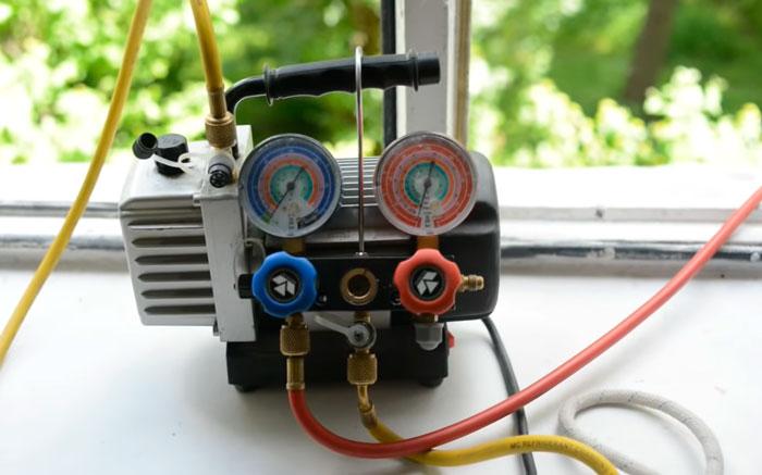 нужен ли вакуумный насос при установке кондиционера бытового
