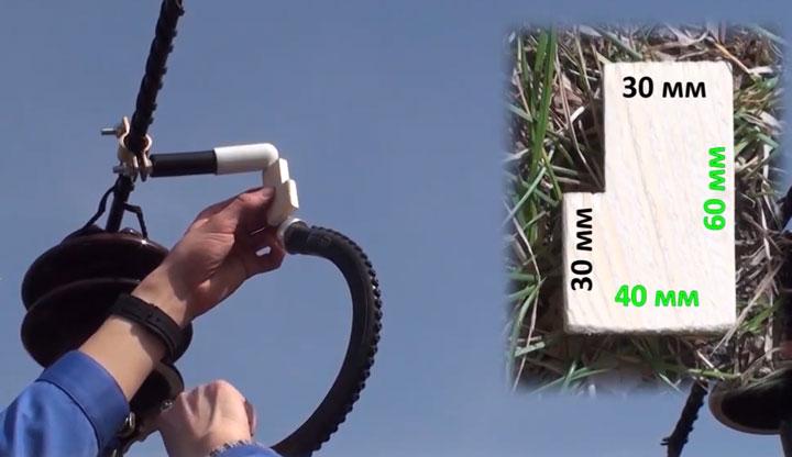 монтаж индикатора срабатывания на провод СИП-3