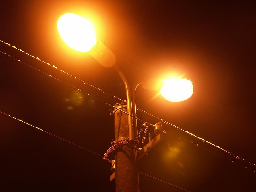 Городское освещение с натриевыми лампами
