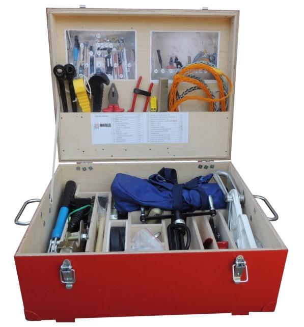 чемодан с инструментом для СИП