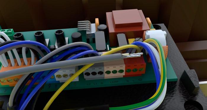 подготовка кабеля для подключения антенны для выдвижных ворот