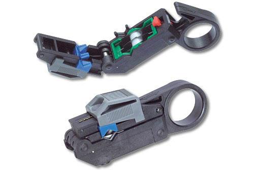 стриппер для снятия изоляции с коаксиального кабеля