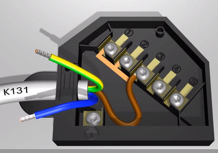 подключение фазного провода на варочной панели однофазной