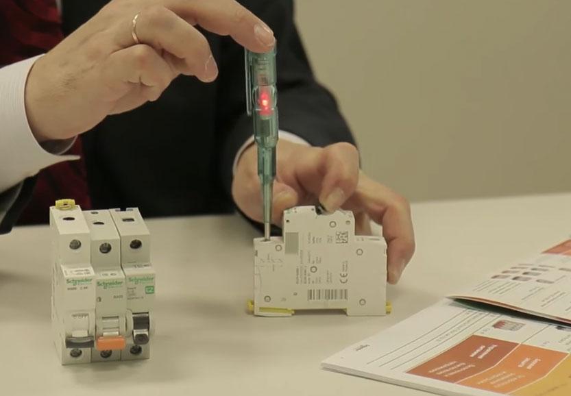 испытание быстродействия автоматического выключателя