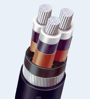 трехфазный кабель с изоляцией сшитого полиэтилена