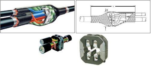 Соединители кольцевого типа могут быть для проводов сечением до 240 мм2