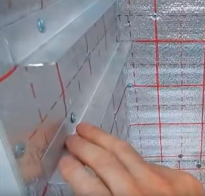 алюминиевые направляющие планки для сеток сушилки