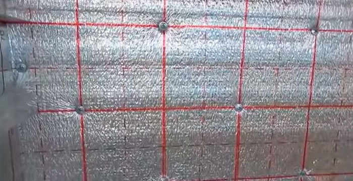 отражающий материал из фольги для изоляции сушильного шкафа фруктов