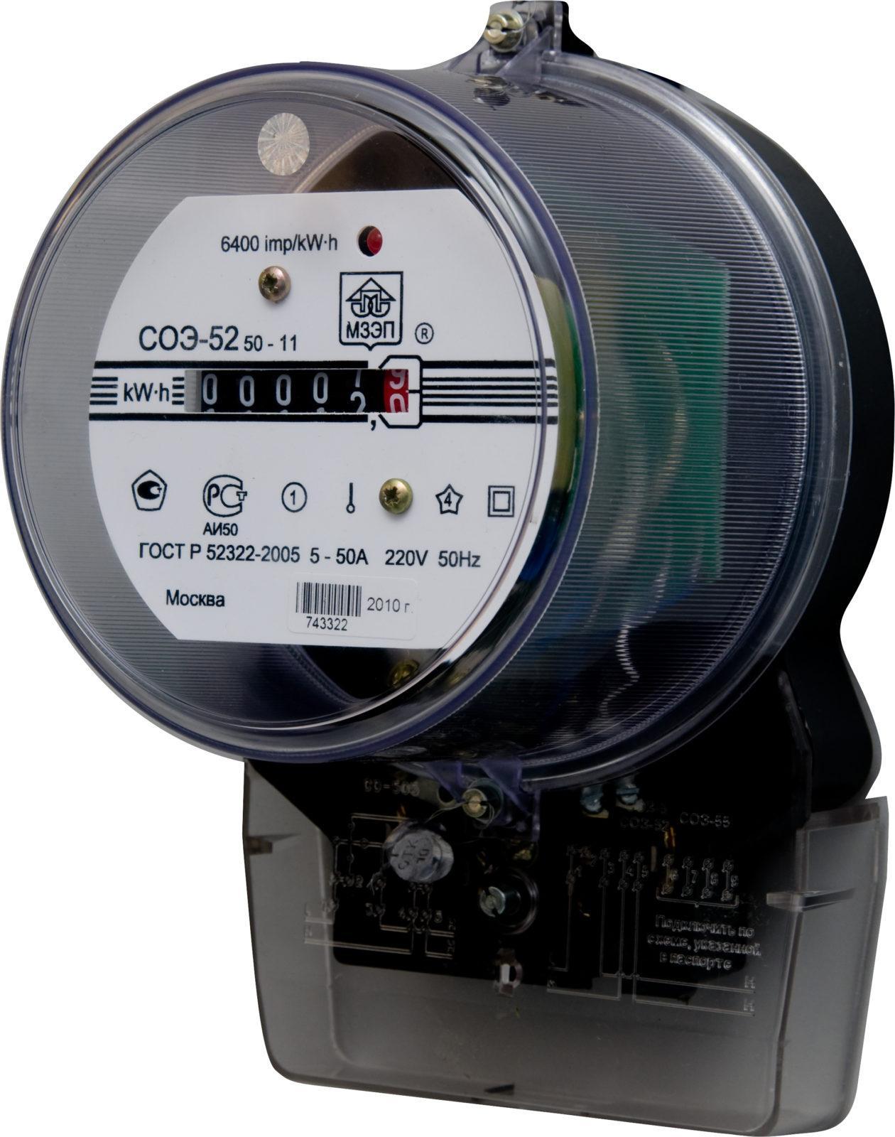 Выбор электросчетчика: индукционный счетчик