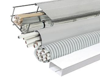 Варианты механической защиты электропроводки