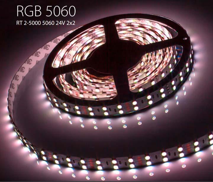 разноцветная RGB светодиодная лента