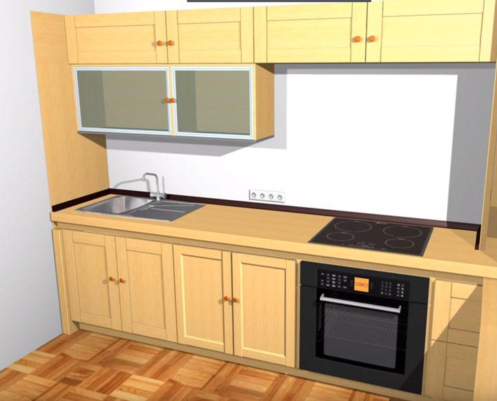 варочная поверхность и духовой шкаф на кухне