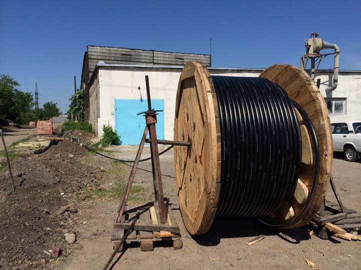 волочение кабеля из сшитого полиэтилена по земле ошибки нарушения работ