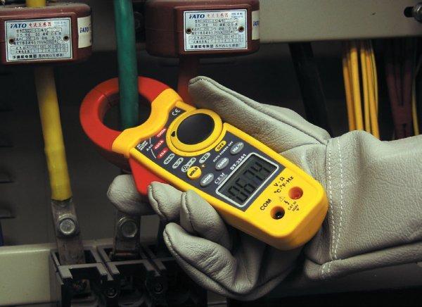 Измерение токовыми клещами