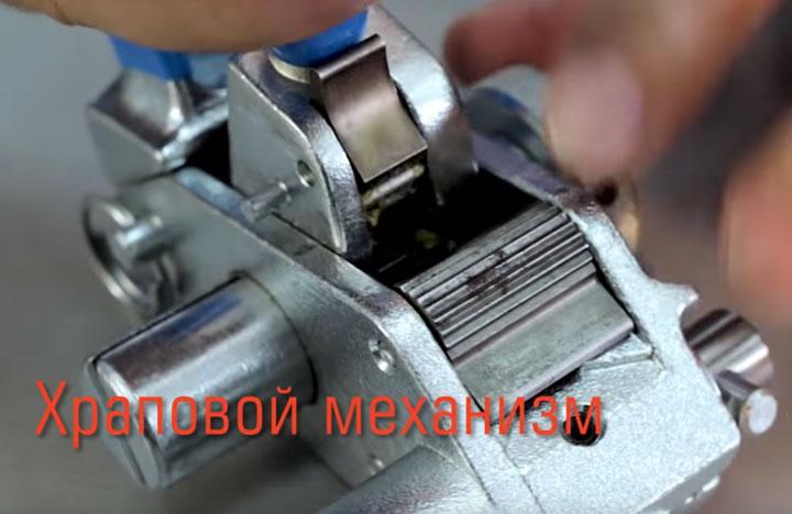 храповой механизм инструмента ИНТ-20 мини