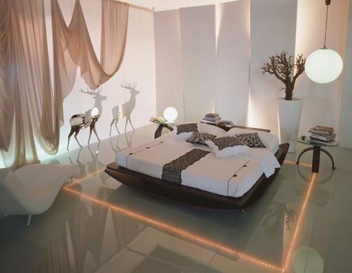 Неповторимый облик в спальной комнате создают в ней атмосферу, благоприятствующую отдыху