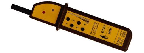 Внешний вид органов управления и индикации детектора «Дятел»