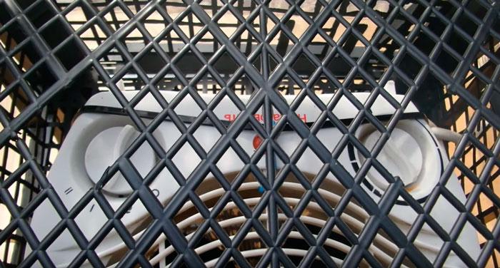 отверстия од регулировочные колесики тепловентилятора