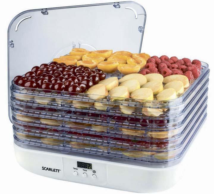 компактная модель сушилки для фруктов и овощей