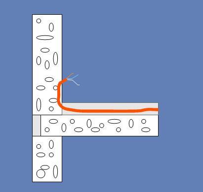 Как сделать монтаж электропроводки в полу?