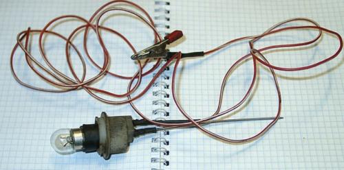 Проверка УЗО с использованием контрольной лампы и добавления дополнительных сопротивлений