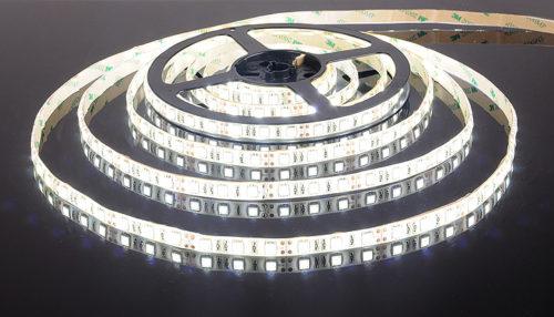 Использование светодиодного полотна позволяет создавать осветительные контуры любой формы и конфигурации