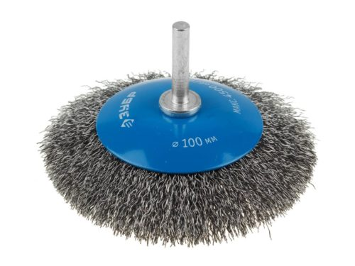 Насадка на шуруповерт для шлифовки металла и очистки от очагов коррозии