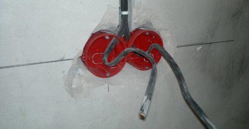 В полученное после сверления отверстие устанавливается подрозетник для крепления устройства